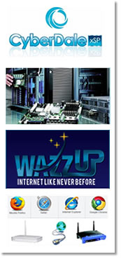 Cyberdale xSP and Wazzup Internet