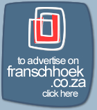 Advertise on Franschhoek.co.za
