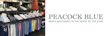 Peacock Blue Men's Boutique